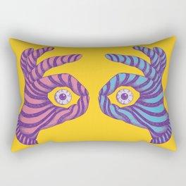 Thief Eyes Rectangular Pillow