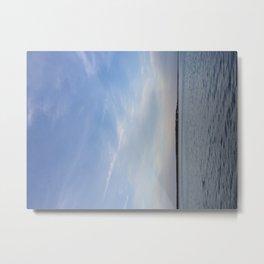 Evening Lake Metal Print