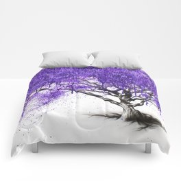 Meet You At The Jacaranda Comforters