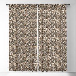 Leopard Print Blackout Curtain