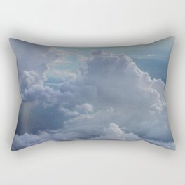 Clouds in the sky Rectangular Pillow
