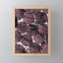 FlowerShells Framed Mini Art Print