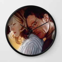 Walter And Skyler White From Breaking Bad Wall Clock