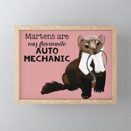 My favourite Auto mechanic Framed Mini Art Print