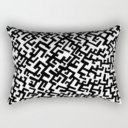 Not a Maze Rectangular Pillow