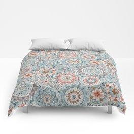 Beachy Boho Chic Mandalas Comforters