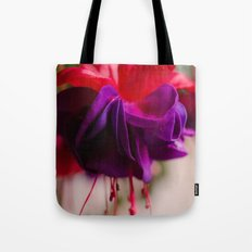 Rainy Day Fuschia  Tote Bag