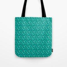 Green Dots Tote Bag