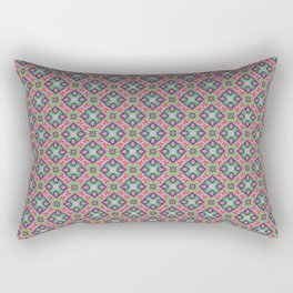 Origami Pattern, hand drawn ink pen Rectangular Pillow