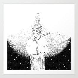 Burning Bright Art Print