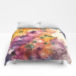 Crystal Formation 1 Comforters