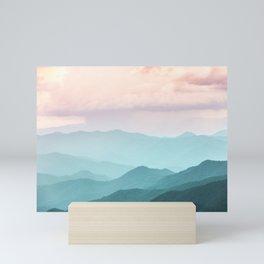 Smoky Mountain National Park Sunset Layers II - Nature Photography Mini Art Print