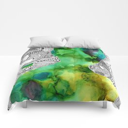 Green With Envy Comforters