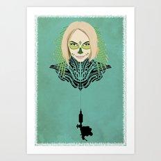 Teya Art Print