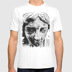 Face from the past Mens Fitted Tee White MEDIUM
