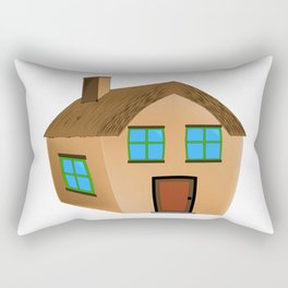 Cartoon Home Rectangular Pillow