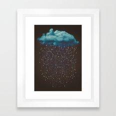 Let It Fall Framed Art Print