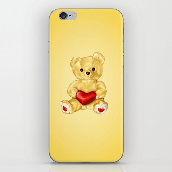 Teddy Bear Hypnotist iPhone & iPod Skin