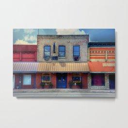 Giddings Downtown Restaurant Metal Print