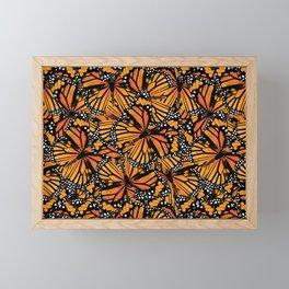 Monarch Butterflies Framed Mini Art Print