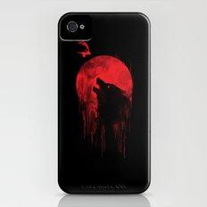 wolf hunter iPhone (4, 4s) Slim Case