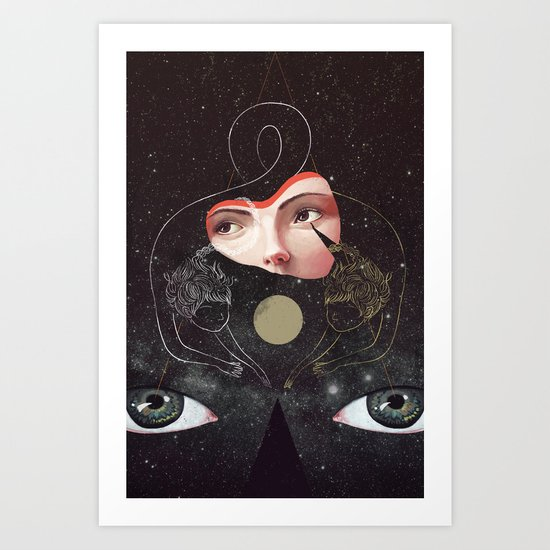 Sister Art Print