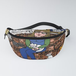 Cat Woman Fanny Pack