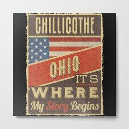 Chillicothe Ohio Metal Print