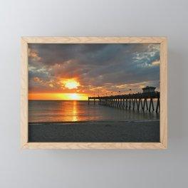 Leave the Light On Framed Mini Art Print