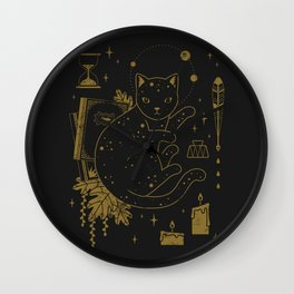 Magical Assistant Wall Clock