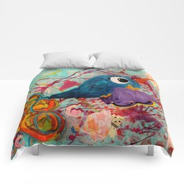 Fancy - Quirky Bird Series Comforters