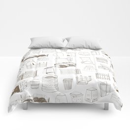 Cover, Contain, COMPOST- 1 of 3 Comforters