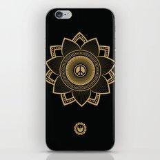Peace Lotus iPhone & iPod Skin