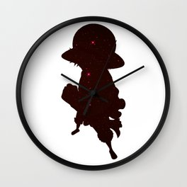 Anime Manga Pirate Space Shirt Wall Clock