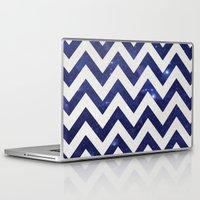 chevron Laptop & iPad Skins featuring ChEVRON by Monika Strigel®