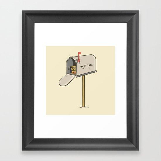 You've Got Spam! Framed Art Print
