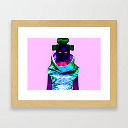 CyberGeisha X Framed Art Print