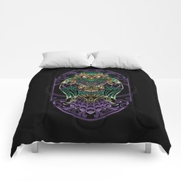 Grand Horned Owl Comforters