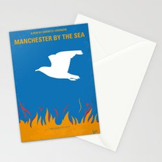 No753 My Manchester by the Sea minimal movie poster Stationery Cards