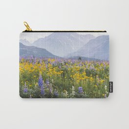 Waterton Wildflowers Carry-All Pouch