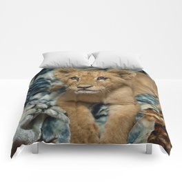 Lambert the Lion and His Blanket Comforters