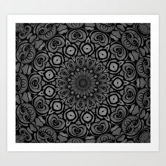 dark side 2 Art Print