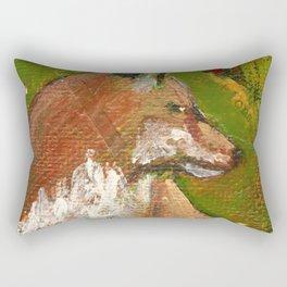 Heart of the Fox Rectangular Pillow