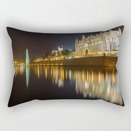 Palma Cathedral - Palma de Mallorca Spain Rectangular Pillow