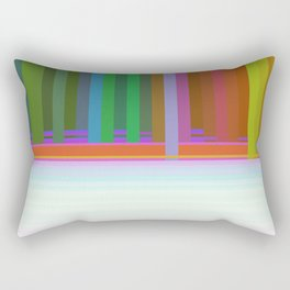 Opposing Forces Rectangular Pillow