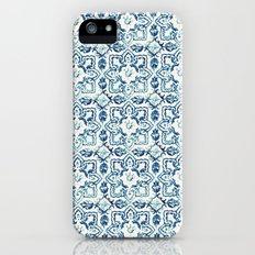 tile pattern IV - Azulejos, Portuguese tiles iPhone (5, 5s) Slim Case