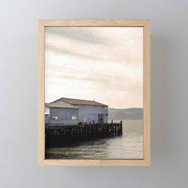 Glamorous Evening, Astoia, Oregon Framed Mini Art Print