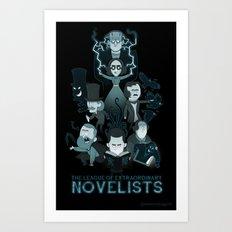 Extraordinary Novelists Art Print