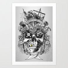No Quarter Art Print