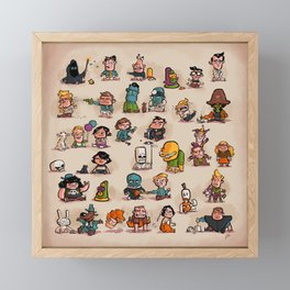 Tiny Adventures Framed Mini Art Print